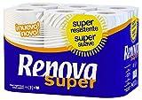 #9: Renova Super Toilet Paper 12 Rolls (2 Ply) , Super Resistente , First Time In INDIA.