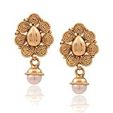 STYLISH GOLD PLATED EARRINGS FROM HYDERA...