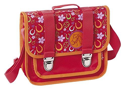 sigikid, Mädchen, Kindergartentasche Pferde Fan, Pony Sue, Rot, 23999 Schultertasche / Pony Sue