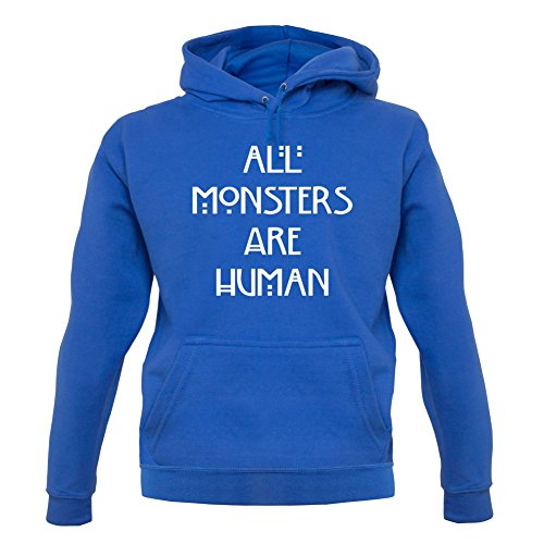 All Monsters Are Human - Unisex Sweat/Pull - Bleu - XXL