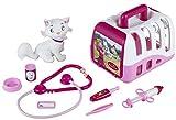 Theo Klein 4821 - Princess Coralie Tierarztkoffer mit Plüschkatze und Zubehör, Spielzeug