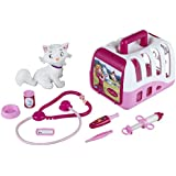 "Theo Klein 4821 ""Princess Coralie"" Vet's Case Set with Cat and Accessories"