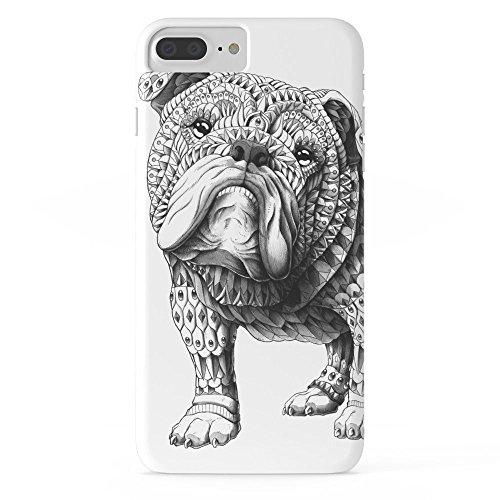 Rosen Garten Telefon Fall protectivedesign Zelle Fall Englisch Bulldog Slim Case iPhone 7Plus Bulldog-handy-fall