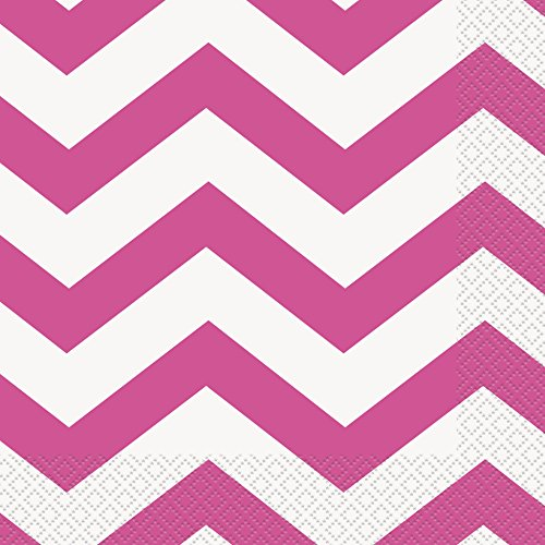 (Unique Party Chevron Papierservietten)