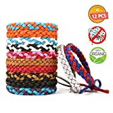 Best Bug Repellent For Campings - Mosquito Repellent Bracelet 12PCS Pathonor Stylish Wrist Bands Review