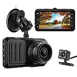 Dash Cam 1296P FHD 3'' LCD Screen Car Video Driving Recording Cam