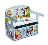 Delta Children Disney Winnie the Pooh - Panca/scrivania convertibile. Blu