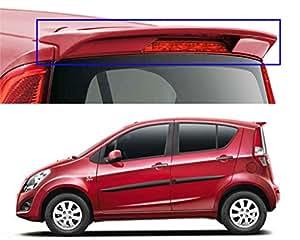 Auto Pearl - Premium Quality OE Type Car Spoiler For - Maruti Suzuki Ritz Without Light (New Mystique Red)