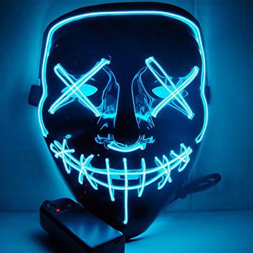 icht Maske lustige Maske aus der Purge Wahljahr ideal für Festival Cosplay Halloween Kostüm Drop Shipping-1 ()
