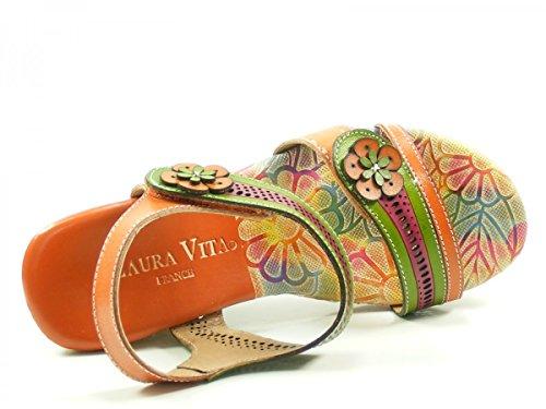 Laura Vita CX2713-6 Dauphin 06 Mules Mode Femme Orange
