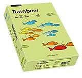 Papyrus 88042607 Drucker-/Kopierpapier bunt, Bastelpapier: Rainbow 80 g/m ² DIN-A4, 500 Blatt, matt, leuchtend grün -