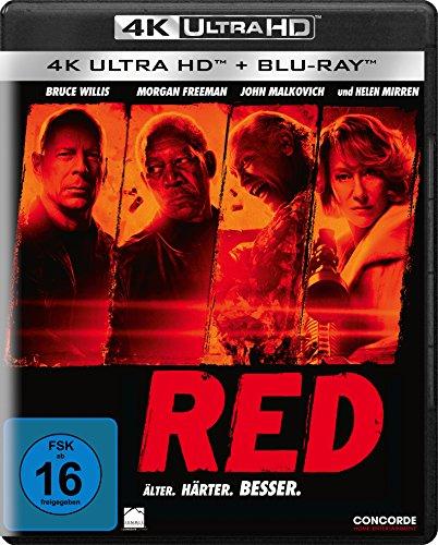 R.E.D. - Älter. Härter. Besser (4K Ultra HD) (+ Blu-ray)