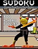 Famous Frog Sudoku 800 Extra Hard Puzzles With Solutions: An Extra Hard Series Book: Volume 5 (Famous Frog Extra Hard Series)