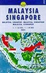 Carte routi�re : Malaysia, Singapore