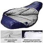 Bessport Mummy Sleeping Bag -10 Degree Celsius - 4 Season Backpacking Sleeping Bag for Adults & Kids – Lightweight Warm… 12