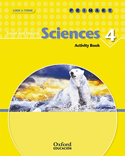 Look And Think Do Learn Social Sciences And Natural Sciences 4th Primary Activity Book (Look & Think) - 9788467355628