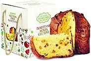 Panettone artigianale BIO Senza Glutine di Fraccaro Spumadoro, dolce natalizio Made in Italy – 500 gr.