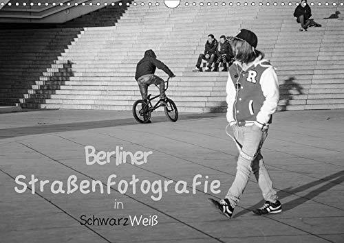 Berliner Straßenfotografie / Geburtstagskalender (Wandkalender 2020 DIN A3 quer): Eindringliche und bewegende Bilder in schwarzweiß zeigen das ... 14 Seiten ) (CALVENDO Orte)