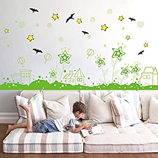 iHENGH Hot Seller DIY Plant Removable Wall Decal Family Home Sticker Mural Art Home Decor(A)