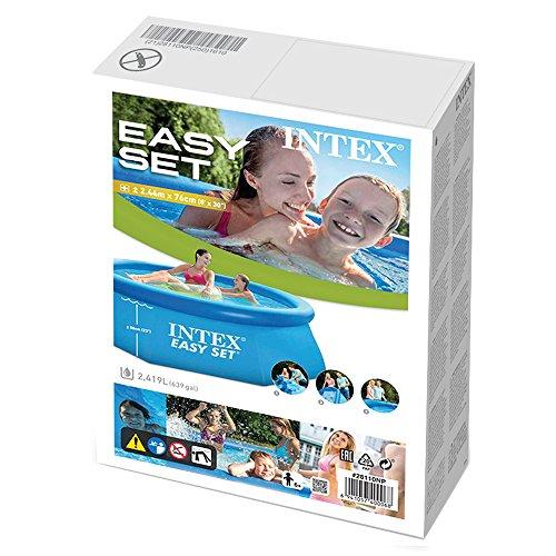 INTEX EASY SET POOL QUICK UP SWIMMING POOL 244x76cm - 3