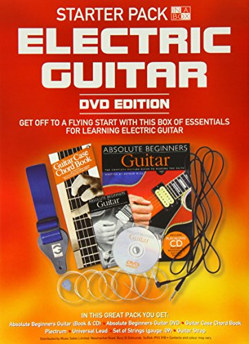 Wise Publications - Electric Guitar Book in a Box - Starter Pack lowest price