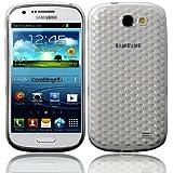 Funda Gel SILICONA PARA Samsung Galaxy Express i8730 COLOR BLANCO TRANSPARENTE