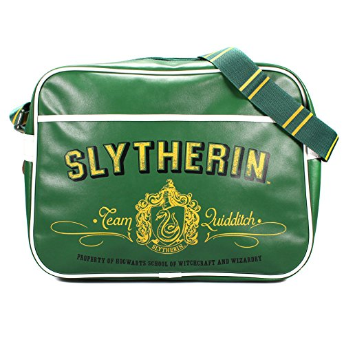 Crest Messenger (Harry Potter Slytherin Crest Retro Tasche)