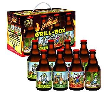 Bierundmehr Grillbox-Das Grill Zubehör für jede Party Bier im 8er Geschenkkarton, 8er Pack (8 x 0.33 l)