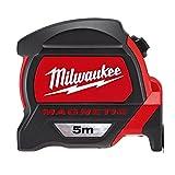 Milwaukee 48227305 Hp5mg/27 Premium – Mètre à Ruban magnétique – Rouge/Noir, 5m