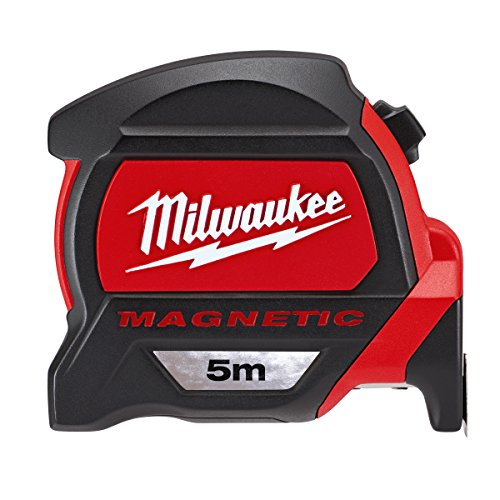 Cinta métrica magnética Milwaukee 48227305 HP5Mg/27, color rojo/negro