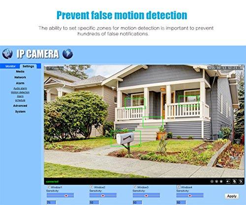 IeGeek Waterproof Home Security Surveillance Outdoor Bullet IP Camera