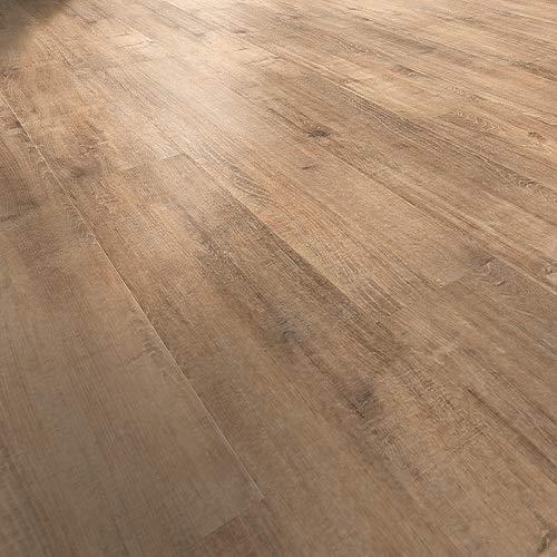 moderna Laminatboden Eiche Borgholm | impression Click Bodenbelag Eiche 7mm stark ✓authentische Holzoptik ✓pflegeleicht ✓einfache Click Montage | Eiche Laminat Dielen 2,481qm