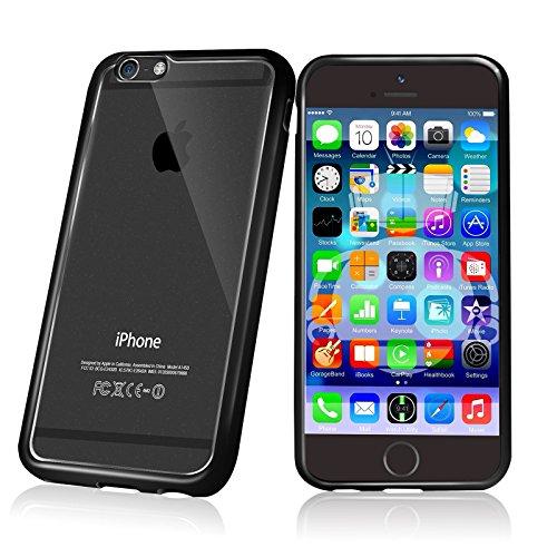 Cotechs® - Fusion Gel Hard Bumper Case / Cover (Hülle / Fall / Schutzhülle / tasche /Schutzrahmen hülse) Schwarz für Neu iPhone 6 Plus 5.5