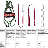 Wolfpack 15030065 Arnes Anticaidas Kit Seguridad Nº 2 (7 piezas) EN361
