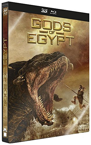 Gods Of Egypt - Edition Steelbook [Combo Blu-ray 3D + Blu-ray - Édition boîtier SteelBook] (Video Booth)
