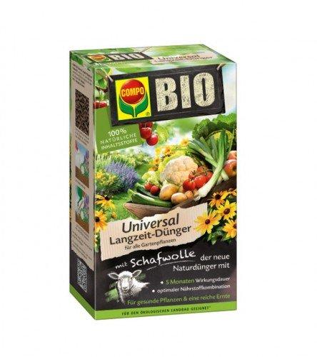 Compo Bio Engrais longue durée pour buisson universel avec laine de mouton 2 kg