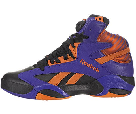 Reebok Shaq Attaq Pump Retro (The Big Shaqtus-Phoenix Suns) Black/Purple-Orange (10)