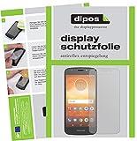 dipos I 2X Schutzfolie matt passend für Motorola Moto E5 Play MSM8917 Folie Bildschirmschutzfolie
