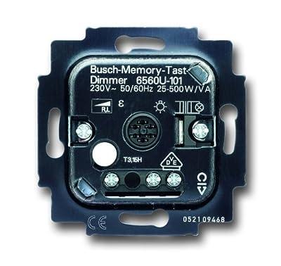 Busch-Jaeger 6560U-101 Busch-Memory-Tastdimmer® Einsatz von Busch-Jaeger auf Lampenhans.de