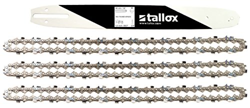 Tallox Espada para motosierra 40 cm Compatible con Stihl