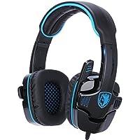 GHB Sades SA-708 Cuffie da Gioco Gaming Headphone Stereo con