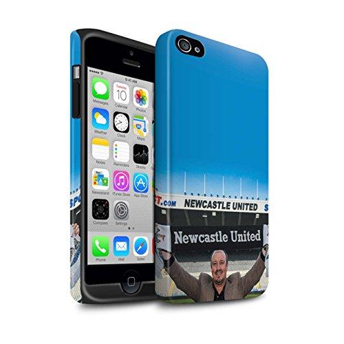 Offiziell Newcastle United FC Hülle / Matte Harten Stoßfest Case für Apple iPhone 4/4S / Pack 8pcs Muster / NUFC Rafa Benítez Kollektion Willkommen