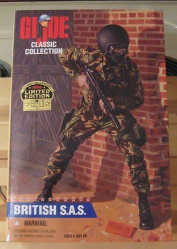Joe 12-zoll-gi (GI Joe British S.A.S (Special Air Service) 1996 Classic Collection Caucasian 12-Inch Action Figure)