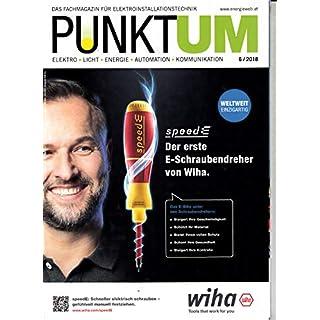 Punktum (AT) 6 2018 Wiha E-Schraubendreher Zeitschrift Magazin Einzelheft Heft Elektroinstallationstechnik