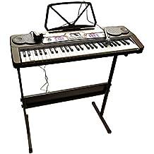 Globo Juguetes globo–37342Factory sonido 54-keys Piano con micrófono/Patas/100Ritmos y 8canción