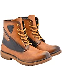 Walk Jump Premium High Ankle Boots, Comfortable Boots, Lifestyle Boots For Men