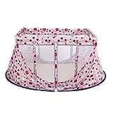Baby cot Freier Krippenreisefaltbett Tragbares Krippe-Multifunktionskindbett-Babyspiel Bed100 * 60 * 65CM,3
