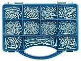 Set de tornillos, 500 unidades