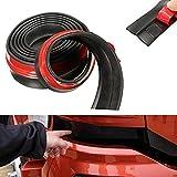Gemini_mall®, paraurti anteriore per auto, 248,9cm gomma paraurti anteriore, para bordi, spoiler bordi, protettore universale