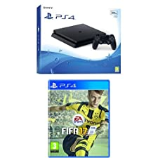 PlayStation 4 500 Gb D Chassis Slim + FIFA 17